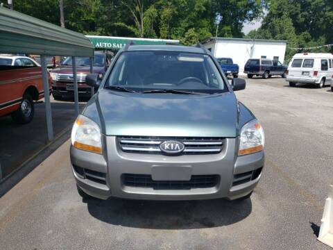 2008 Kia Sportage for sale at A-1 Auto Sales in Anderson SC