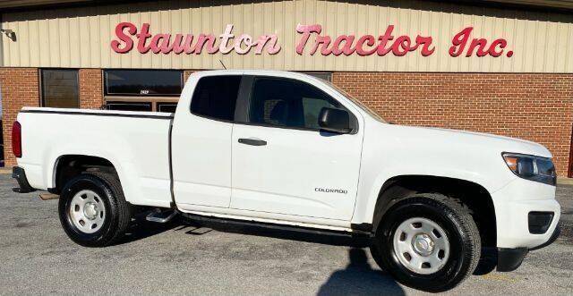 2016 Chevrolet Colorado for sale at STAUNTON TRACTOR INC in Staunton VA