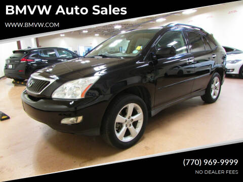 2008 Lexus RX 350 for sale at BMVW Auto Sales in Union City GA