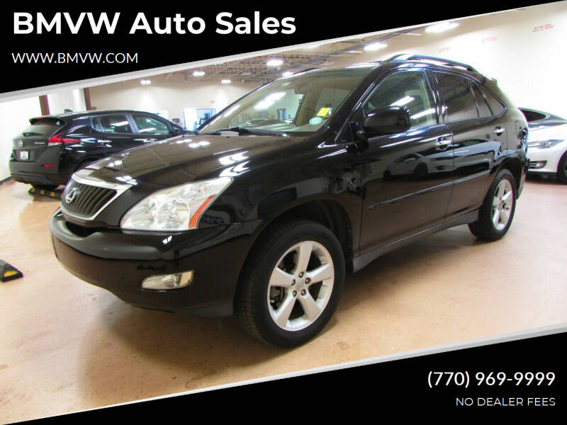 2008 Lexus RX 350 for sale at BMVW Auto Sales - Electric Vehicles in Union City GA