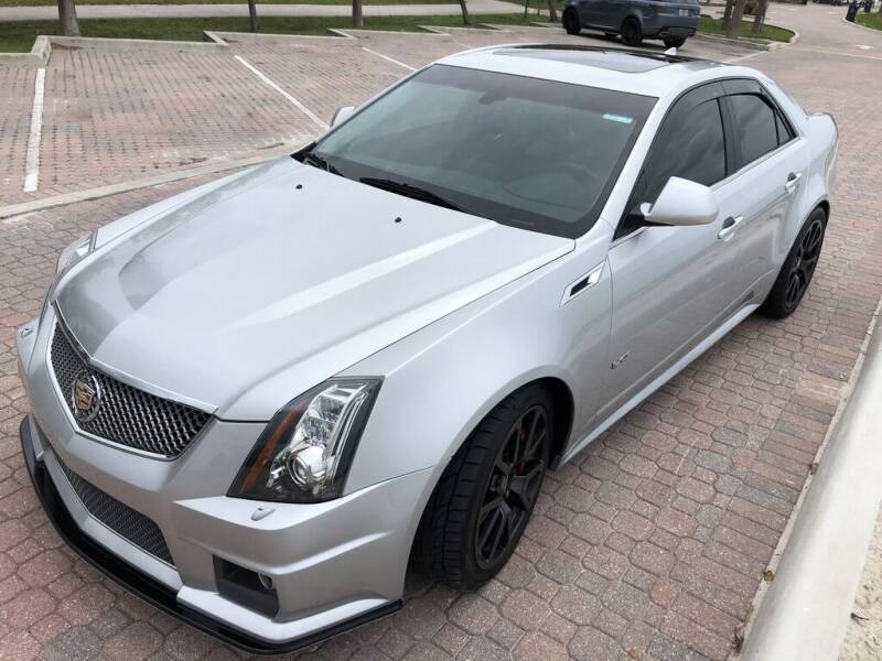 2014 Cadillac CTS-V for sale at SPECIALTY AUTO BROKERS, INC in Miami FL