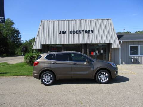 2017 Buick Envision for sale at JIM KOESTNER INC in Plainwell MI