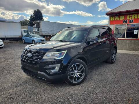 2017 Ford Explorer for sale at Yaktown Motors in Union Gap WA