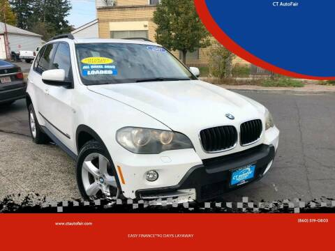 2007 BMW X5 for sale at CT AutoFair in West Hartford CT