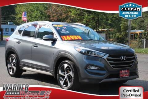 2017 Hyundai Tucson for sale at Warner Motors in East Orange NJ