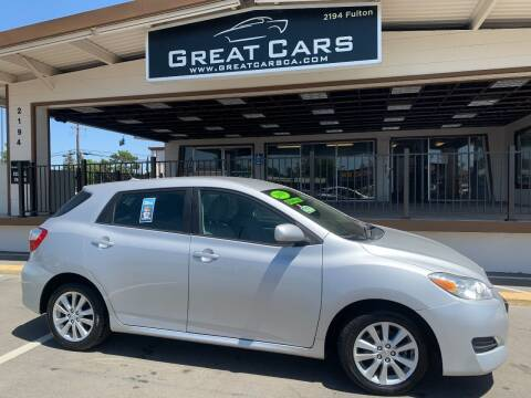 2009 Toyota Matrix for sale at Great Cars in Sacramento CA