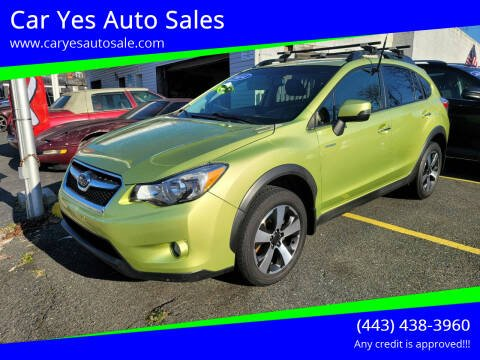 2014 Subaru XV Crosstrek for sale at Car Yes Auto Sales in Baltimore MD