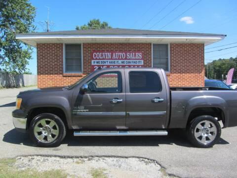 2010 GMC Sierra 1500 for sale at Colvin Auto Sales in Tuscaloosa AL