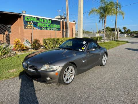 2005 BMW Z4 for sale at Galaxy Motors Inc in Melbourne FL