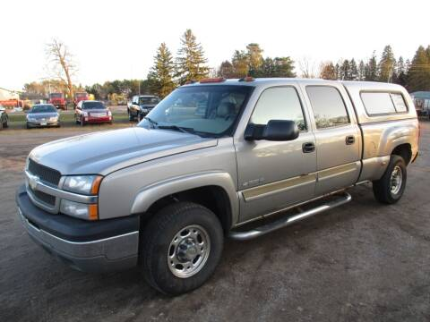 2003 Chevrolet Silverado 1500HD for sale at D & T AUTO INC in Columbus MN