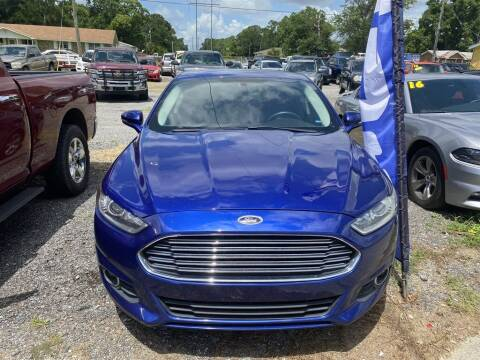 2016 Ford Fusion for sale at THE COLISEUM MOTORS in Pensacola FL