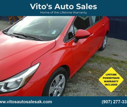 2016 Chevrolet Cruze for sale at Vito's Auto Sales in Anchorage AK