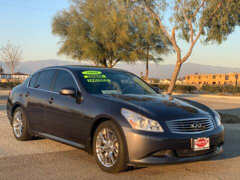 2008 Infiniti G35 for sale at Esquivel Auto Depot in Rialto CA