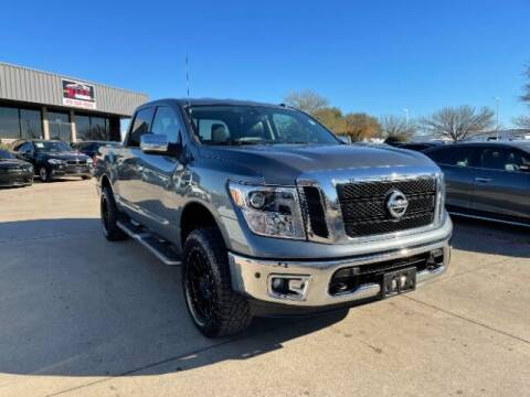 2017 Nissan Titan for sale at KIAN MOTORS INC in Plano TX