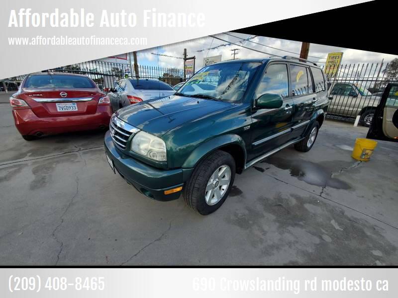 2003 Suzuki XL7 for sale at Affordable Auto Finance in Modesto CA