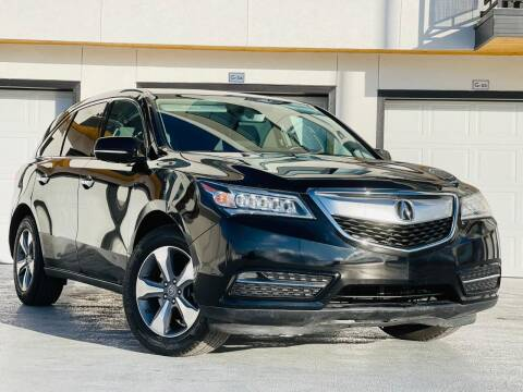 2016 Acura MDX for sale at Avanesyan Motors in Orem UT