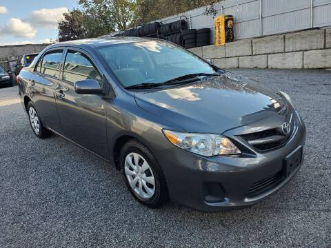 2013 Toyota Corolla for sale at Fortier's Auto Sales & Svc in Fall River MA