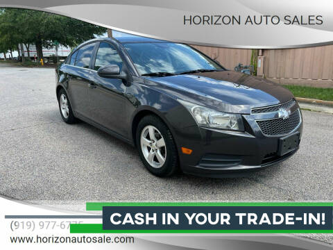 2014 Chevrolet Cruze for sale at Horizon Auto Sales in Raleigh NC