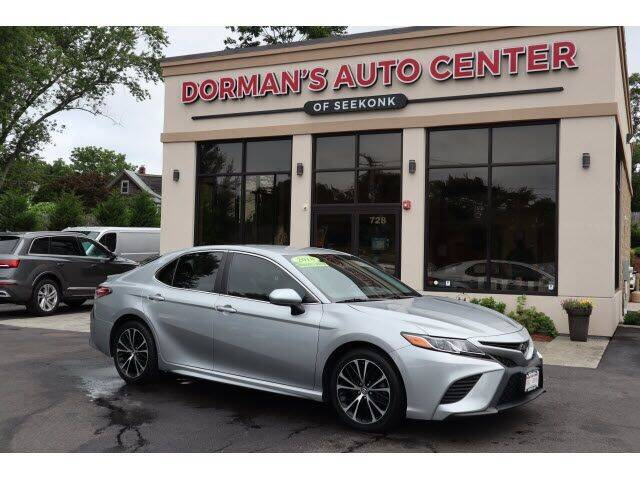 2018 Toyota Camry for sale at DORMANS AUTO CENTER OF SEEKONK in Seekonk MA