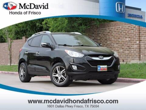 2011 Hyundai Tucson for sale at DAVID McDAVID HONDA OF IRVING in Irving TX