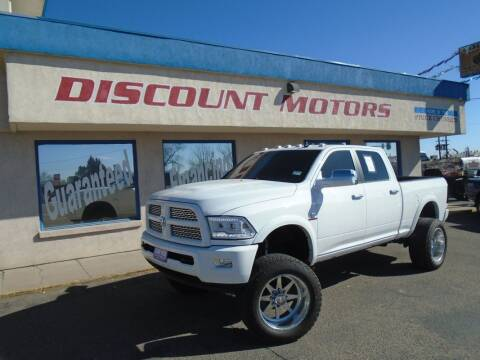 2014 RAM Ram Pickup 2500 for sale at Discount Motors in Pueblo CO