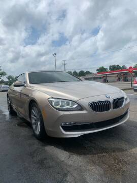 2013 BMW 6 Series for sale at City to City Auto Sales in Richmond VA