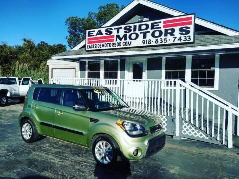 2013 Kia Soul for sale at EASTSIDE MOTORS in Tulsa OK