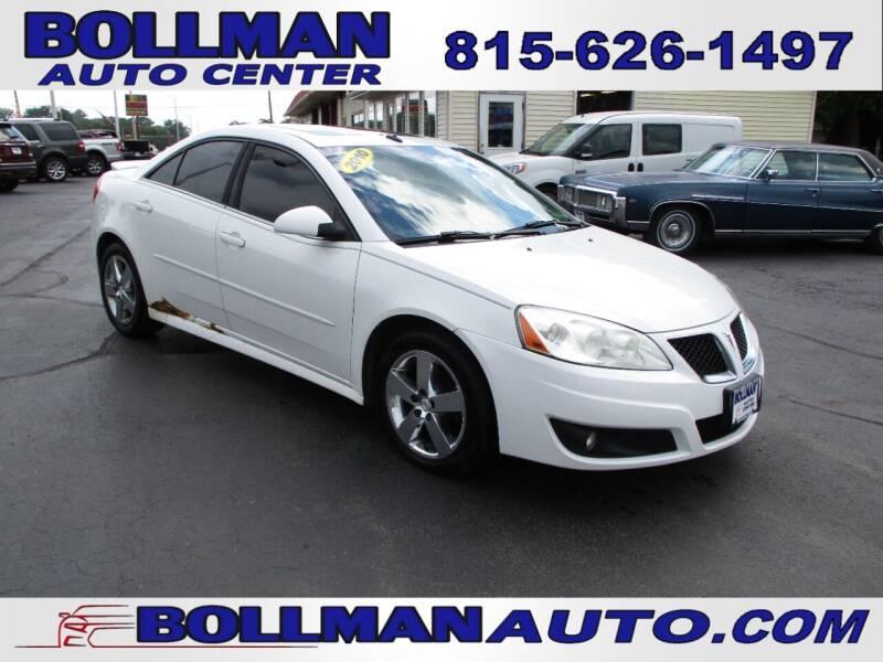 2010 Pontiac G6 for sale at Bollman Auto Center in Rock Falls IL