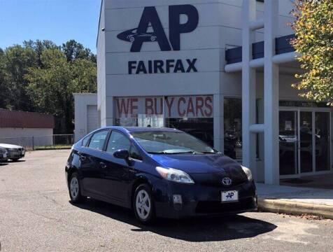 2010 Toyota Prius for sale at AP Fairfax in Fairfax VA
