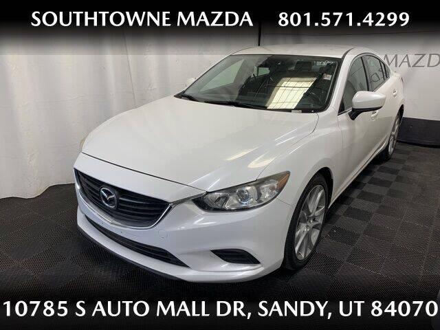 2017 Mazda MAZDA6 for sale at Southtowne Mazda of Sandy in Sandy UT