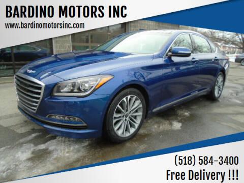 2017 Genesis G80 for sale at BARDINO MOTORS INC in Saratoga Springs NY