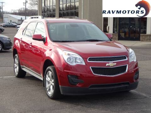 2015 Chevrolet Equinox for sale at RAVMOTORS 2 in Crystal MN