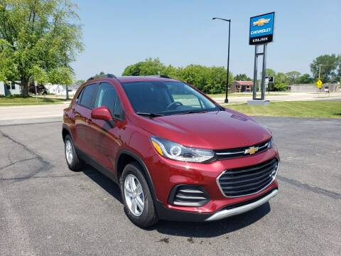 2021 Chevrolet Trax for sale at Krajnik Chevrolet inc in Two Rivers WI