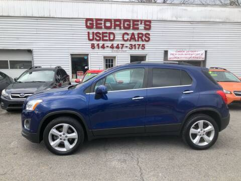 2015 Chevrolet Trax for sale at George's Used Cars Inc in Orbisonia PA