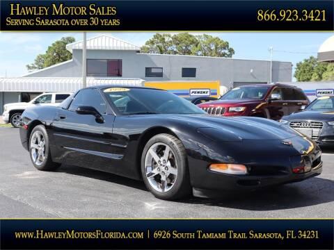 1999 Chevrolet Corvette for sale at Hawley Motor Sales in Sarasota FL