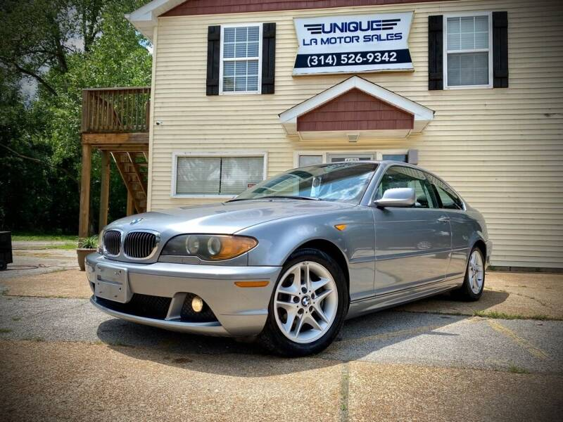 2004 BMW 3 Series for sale at Unique LA Motor Sales LLC in Byrnes Mill MO