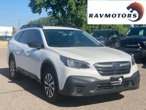 2020 Subaru Outback for sale at RAVMOTORS in Burnsville MN