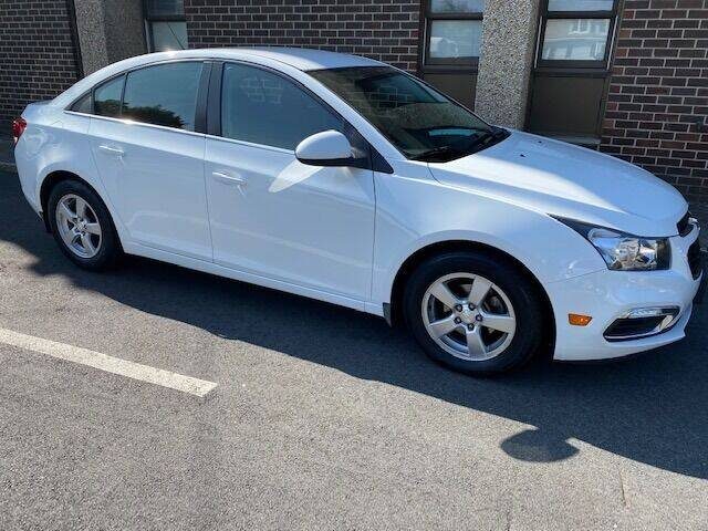 2015 Chevrolet Cruze for sale at Warner Motors in East Orange NJ