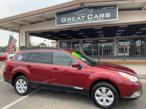 2012 Subaru Outback for sale at Great Cars in Sacramento CA
