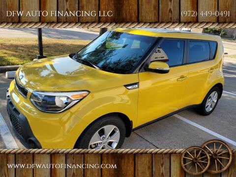 2014 Kia Soul for sale at DFW AUTO FINANCING LLC in Dallas TX