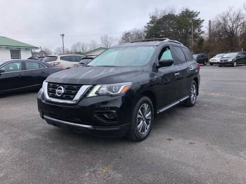 2020 Nissan Pathfinder for sale at Morristown Auto Sales in Morristown TN