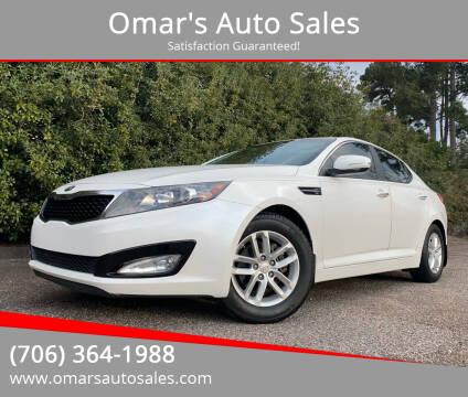 2013 Kia Optima for sale at Omar's Auto Sales in Martinez GA