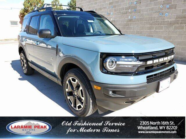 2021 Ford Bronco Sport for sale in Wheatland, WY