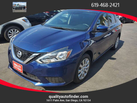 2016 Nissan Sentra for sale at QUALITY AUTO FINDER in San Diego CA