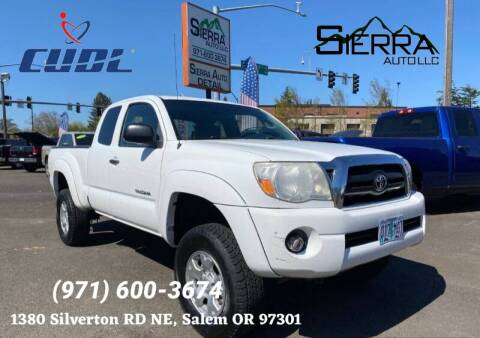 2008 Toyota Tacoma for sale at SIERRA AUTO LLC in Salem OR