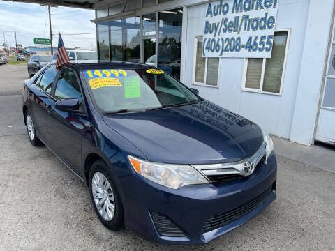 2014 Toyota Camry for sale at Auto Market in Billings MT