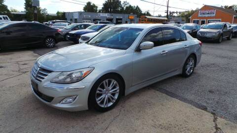 2012 Hyundai Genesis for sale at Unlimited Auto Sales in Upper Marlboro MD