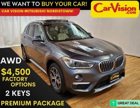 2017 BMW X1 for sale at Car Vision Mitsubishi Norristown in Trooper PA