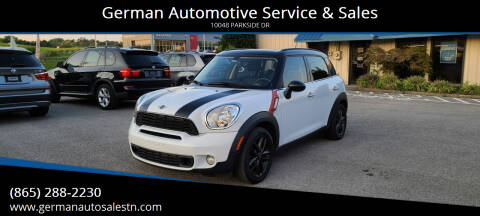 2012 MINI Cooper Countryman for sale at German Automotive Service & Sales in Knoxville TN