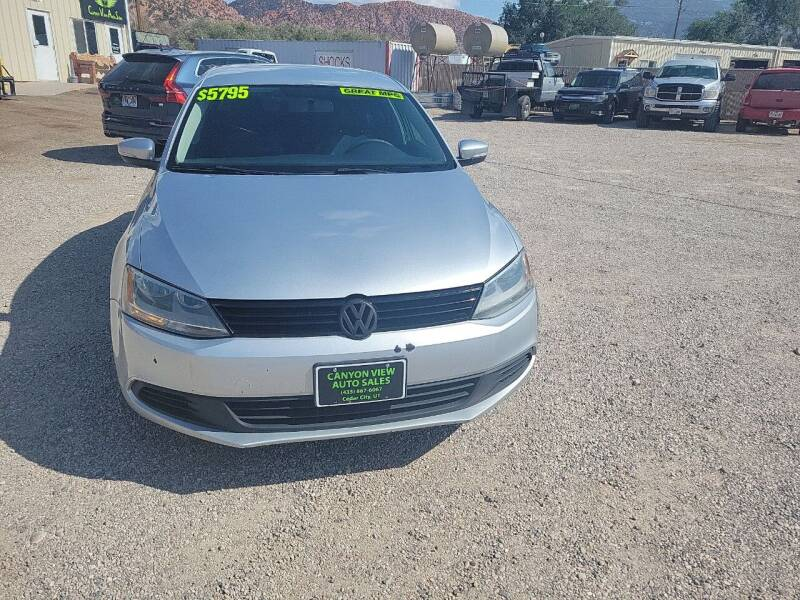 2011 Volkswagen Jetta for sale at Canyon View Auto Sales in Cedar City UT